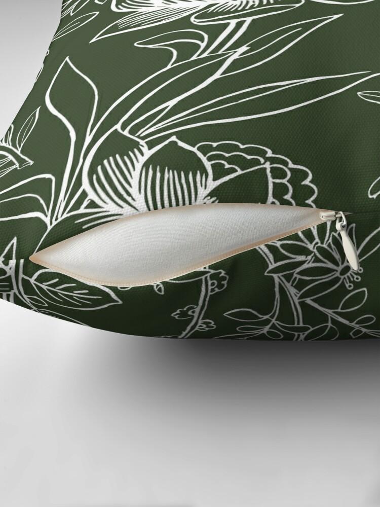Alternate view of Evergreen Floor Pillow