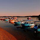 Maroochy River At Sunrise, Maroochydore. Queensland, Australia by Ralph de Zilva