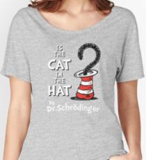 Is the Cat in the hat? Women's Relaxed Fit T-Shirt