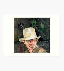 Indiana Jones. Art Print