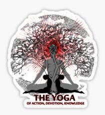 Yoga Life Sticker