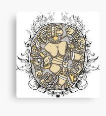 Ancient Puzzle Canvas Print