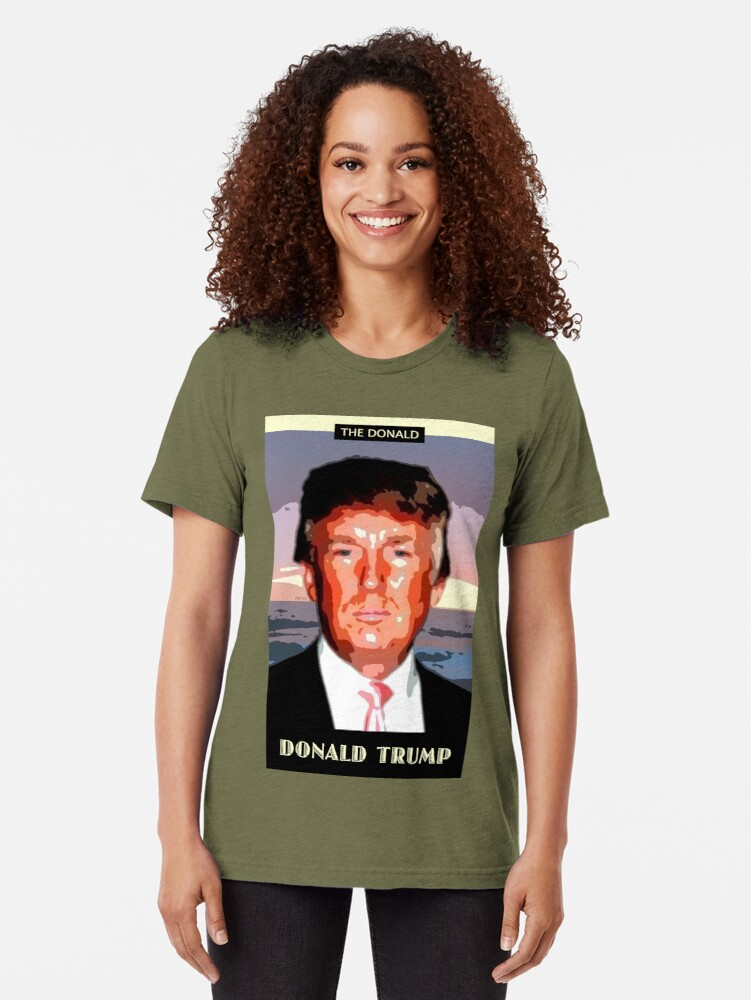 Alternate view of The Donald Tri-blend T-Shirt