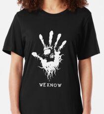 Dunkle Bruderschaft Slim Fit T-Shirt