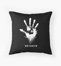 Dark Brotherhood Throw Pillow