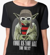 Come As You Are You Must Women's Chiffon Top