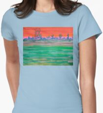 Landscape with Striped Field T-Shirt