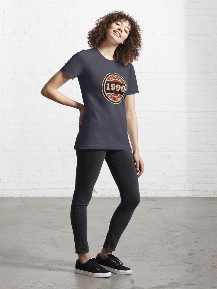 Alternate view of Seattle Grunge Essential T-Shirt