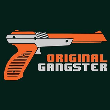 Original Gangster NES Light Gun Joke Gaming Retro Duck by Ebolhayam66