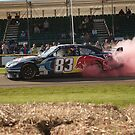 Toyota Camry burn out at Goodwood 2016 by Andyjloft