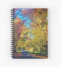 Autumn Colours, Crookwell NSW  Spiral Notebook