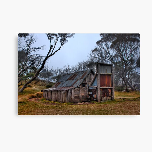 Wallace Hut, High Country Victoria Canvas Print