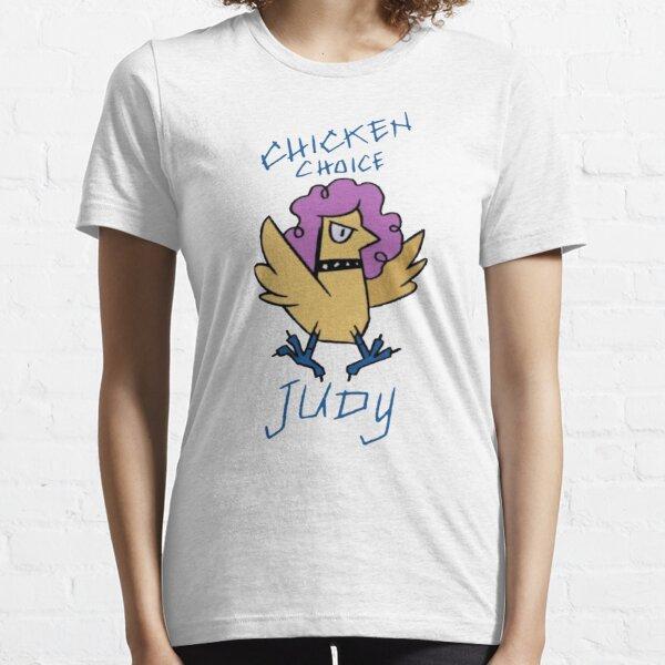 Train à l'infini: Chicken Choice Judy T-shirt essentiel