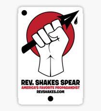 Rev. Shakes Spear Logo Sticker