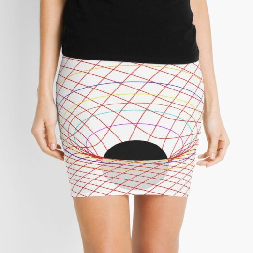 Induced Spacetime Curvature, General Relativity Mini Skirt