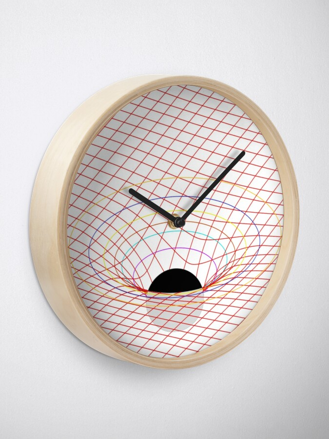 Alternate view of Induced Spacetime Curvature, General Relativity Clock