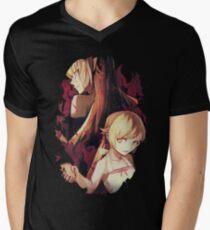 Shinobu Monogatari Men's V-Neck T-Shirt