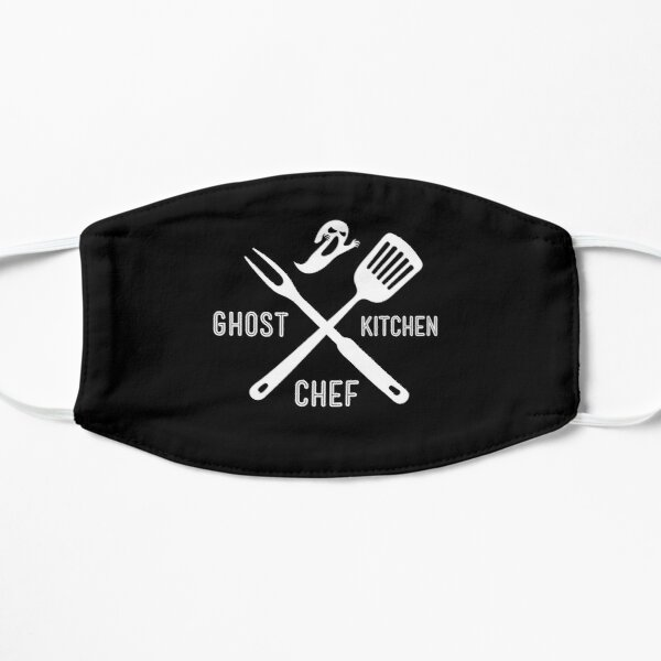 Ghost Kitchen Chef Cloud Kitchen Cook Flat Mask