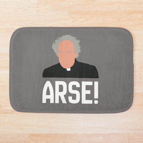 Father Jack Arse! 2 Bath Mat