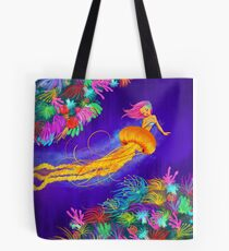 Jellyfish Mermaid! Tote Bag