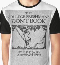 Vintage The College Freshman's Don't Book Graphic T-Shirt