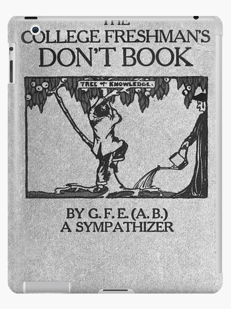 Vintage The College Freshman's Don't Book by lollylocket