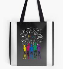 """The Guys of """"Free!"""" - version 1 Tote Bag"""