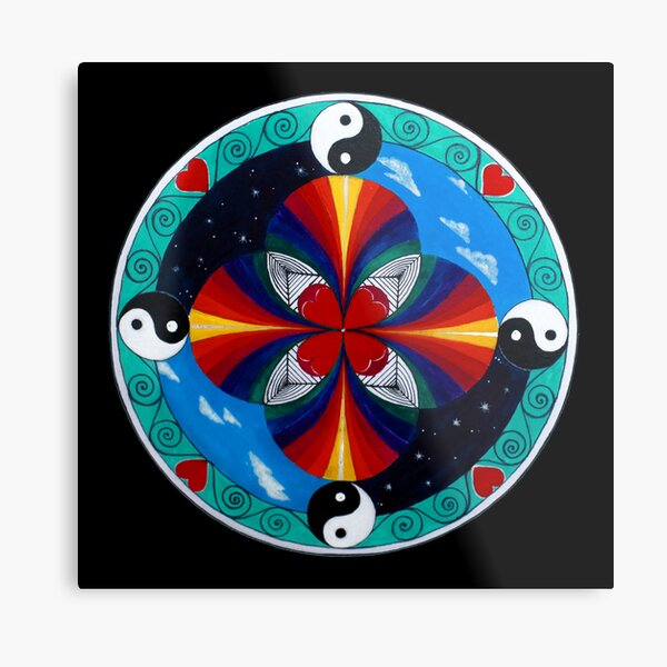 Ether... from 5 Elements Metal Print
