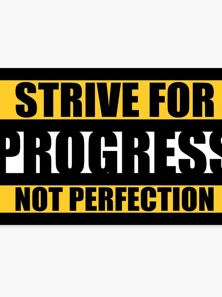 This Is Progress No Longer Printing On >> Strive For Progress Not Perfection Gym Motivational Quotes