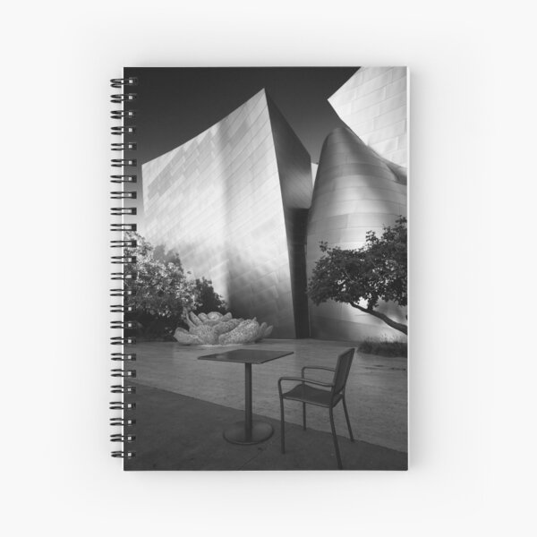 A seat in the sun - Los Angeles California USA Spiral Notebook