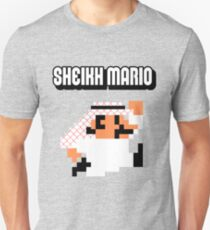 Sheikh Mario Unisex T-Shirt