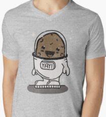 SPACE POTATO ERMAHGERD!! Men's V-Neck T-Shirt