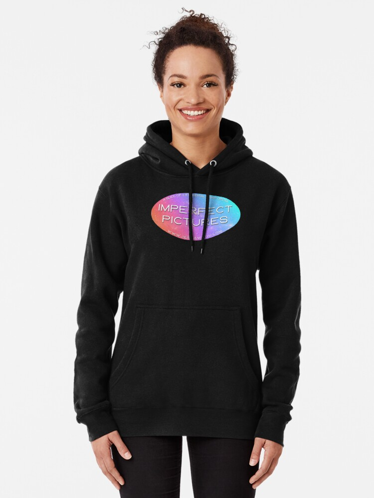 Alternate view of Imperfect Pictures Stardust Logo Pullover Hoodie
