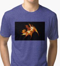 Autumn Leaf Tri-blend T-Shirt