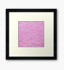 Breast Cancer Pink Framed Print