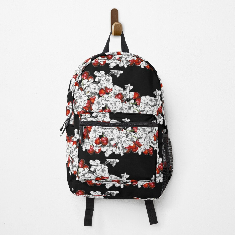 Cherry Blossoms and Cherries Backpack