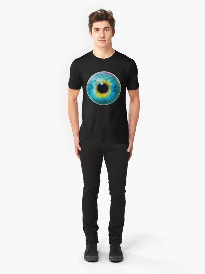 Alternate view of Planet Eye Slim Fit T-Shirt