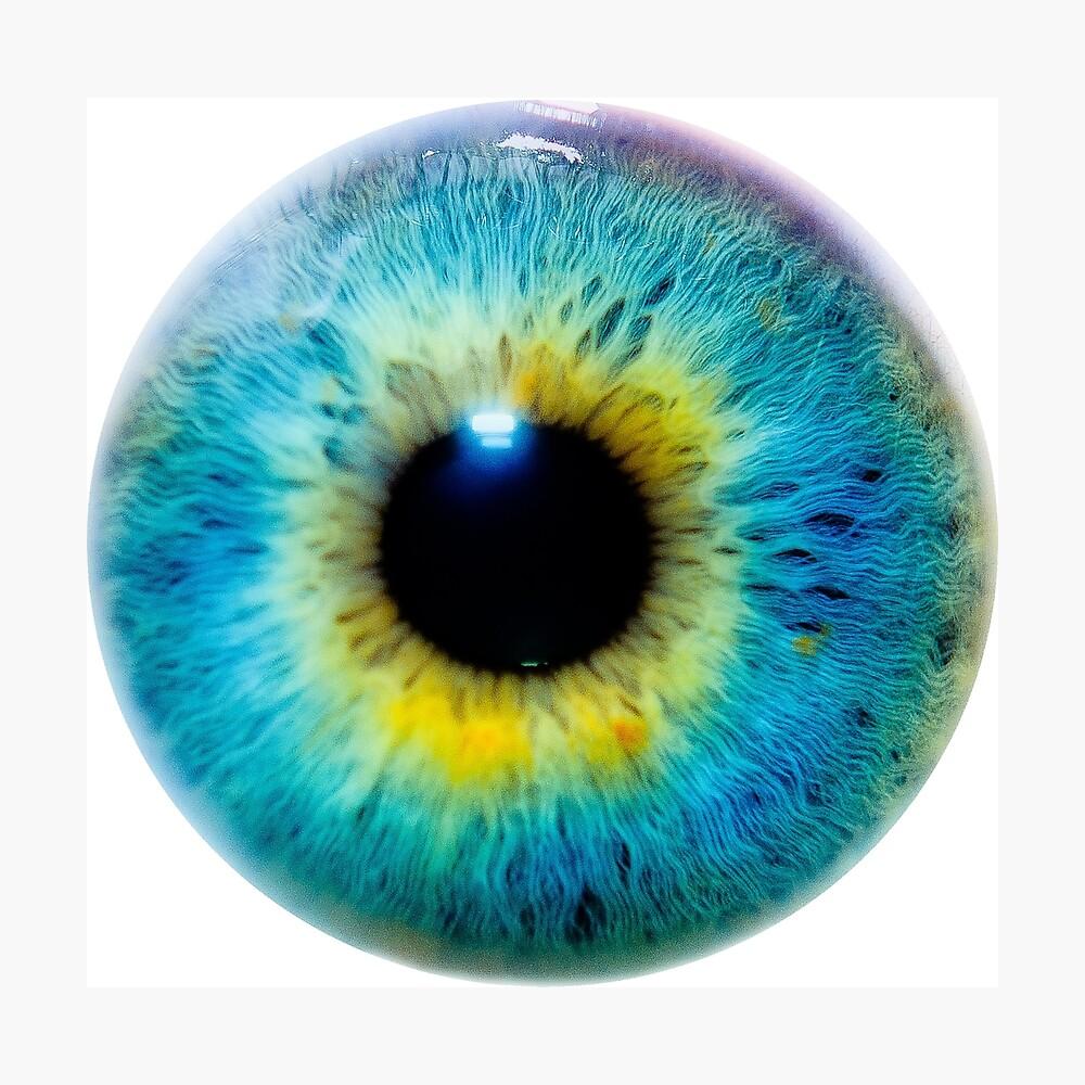 Planet Eye Photographic Print
