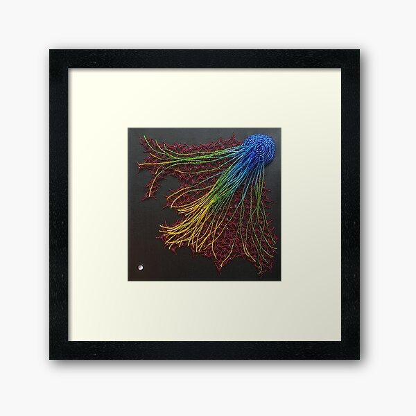 Attraction Framed Art Print