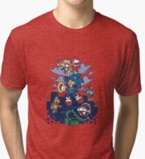 Super Sonic Bros Tri-blend T-Shirt
