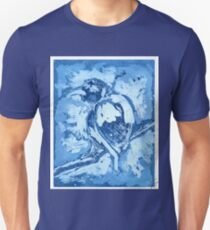 Bird on a Wire (Blue) T-Shirt