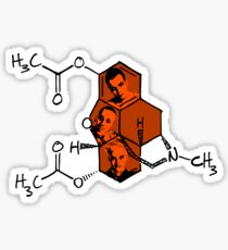 The Science of Skag Sticker