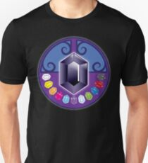 The jewels (solid) Jewels: White, Yellow, Tigers eye, Rose, Summer sky, Purple, opal, emerald, sapphire, red, ebony, and black T-Shirt
