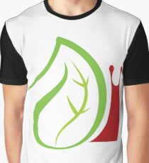 Nature and worm insects Graphic T-Shirt