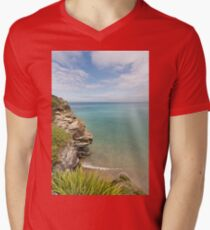 Cliff Edge at St Agnes T-Shirt