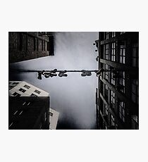 shoes on power lines Photographic Print