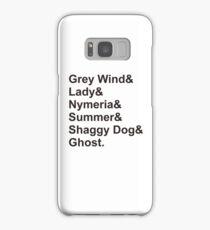 Direwolves Samsung Galaxy Case/Skin