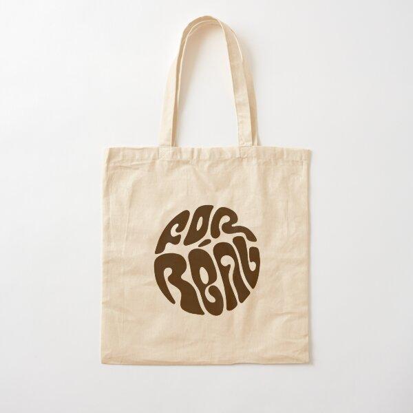 Realisation tote bag brown Cotton Tote Bag
