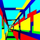 Perspective abstraction by Michael Birchmore
