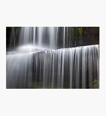 Miami County Falling Water Photographic Print